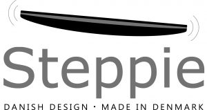 Steppie brand logo